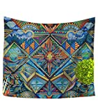 LvRao National Style Tapestry, Hippie Hippy Tapestries, Badsheet, Picnic Beach Sheet, Table Cloth, Decorative Wall Hanging #1-3 150*200cm