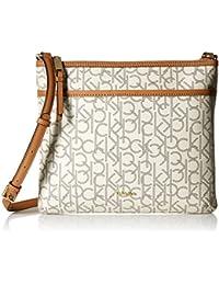 Calvin Klein - Hudson borsello piatto a tracolla con logo Donna 74b64e1da35