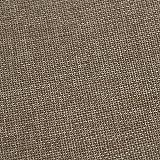Deconovo Leinenoptik Tischdecke Wasserabweisend Tischwäsche Lotuseffekt Tischtuch 130x130 Taupe - 6