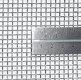 mit Drahtgeflecht-inoxia mit Edelstahl-Gitter-304L–3,3mm Blende–Größe: 30cmx30cm