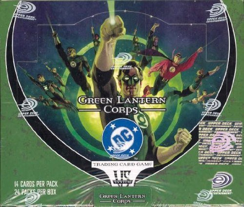 DC VS System Trading Card Game Green Lantern Corps Booster Box 24 Packs [Toy] (Vs-system-box)