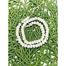 Prime vendita su Amazon Powered by gioiello perline per 1fili agata naturale 4mm micro sfaccettato rondelle lungo 20,3cm.