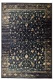 ABC Italia Teppich Vintage Sapphire blau 160 x 230 cm
