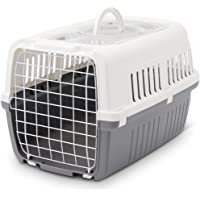Savic Zephos 2 Airline Approved Open Pet Carrier Grey 22x15x13 inch