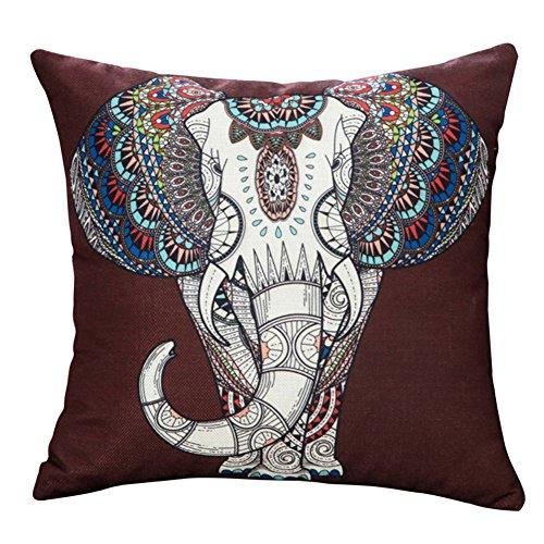 Dosige Funda de Almohada de Elefante,Cojines de Oficina con Fundas de Almohada,para...