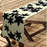 """#8: SKTCHED Printed Polycotton Dining Table Runners With Artistic Patterns And Designs (12""""x48"""")"""