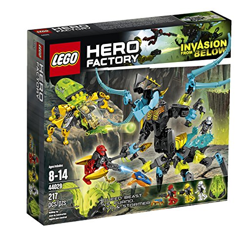 LEGO Hero Factory Queen Beast vs. Furno, Evo and Stormer 44029 Building Set by LEGO (Lego Rescue Set)