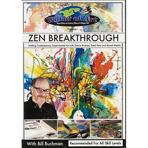 Descubrimientos Zen: Como hacer arte contemporáneo experimental con pinceles Sumi, plumas de caña, y los medios mixtos [DVD Interactivo] – en inglés (sin subtítulos) - Zen Breakthrough: Making Contemporary Experimental Art with Sumi Brushes, Reed Pens and Mixed Media [Interactive DVD] – Import - in