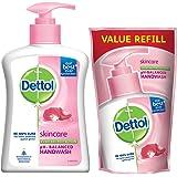 Dettol Liquid Handwash (Skincare) - 200 ml with Free Liquid Handwash - 175 ml (Any Variant)