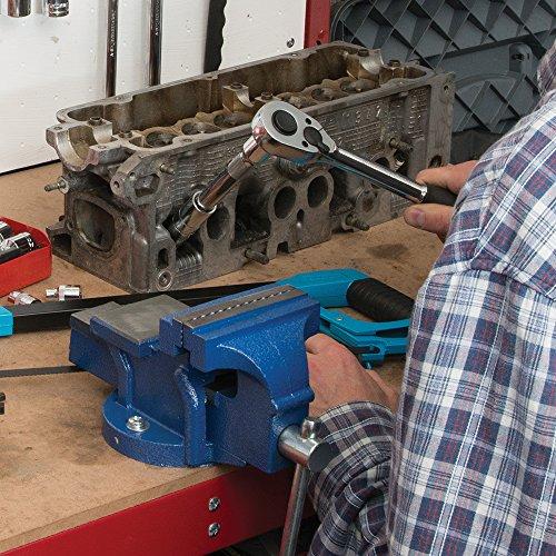 Silverline 633792 Ingenieurs-Schraubstock, 4,5 kg 100 mm - 2