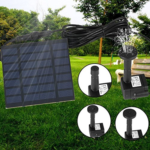 Home Improvement New Solar Power Water Pump Garden Sun Plants Watering Outdoor Water Fountain Pool Pump In Stock Save 50-70%