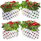 #5: Set of 20 premium colourfull Dotted Grow Bags (20*20*35 cms)