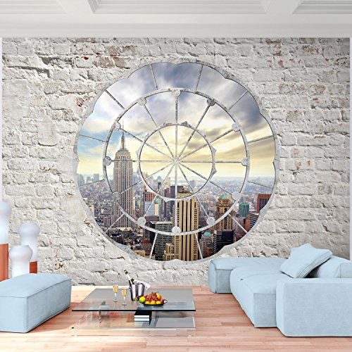 !!! SENSATIONSPREIS !!! Fototapete New York 352 x 250 cm - Vliestapete - Wandtapete - Vlies Phototapete - Wand - Wandbilder XXL - !!! 100% MADE IN GERMANY !!! Runa Tapete 9055011a