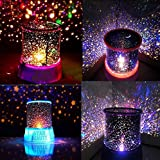 ASkyl LED Star Modes USB Intelligent Night Light Star Projector Lamp
