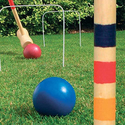 garden mile® Outdoor Garten Spiele für Kinder Familie Spaß Swing Ball Dose Alley Giant Connect 4 Darts Dominos Kegel Zitate Limbo Fußball