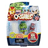 "Ooshies Conjunto 2 ""Marvel Series 1"" Figura de Acción (4 Pack)"