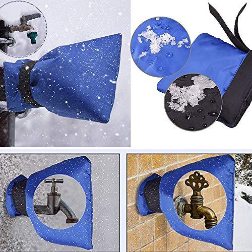 Mitlfuny Black Friay DE Cyber Monday DE,1 Stück Wasserhahn Abdeckung Wasserhahn Frostschutz für Wasserhahn Outdoor Wasserhahn Socken -