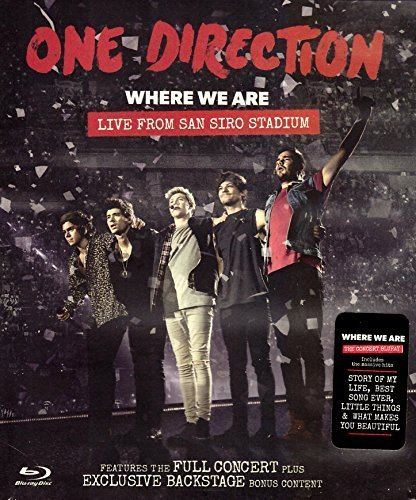 1D One Direction - Where We Are (Live from San Siro Stadium) NTSC Region Free (One Direction Live-dvd)