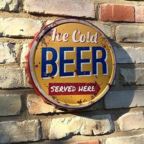 Antikas - la chapa de cerveza Vintage - la chapa de erveza como bandej