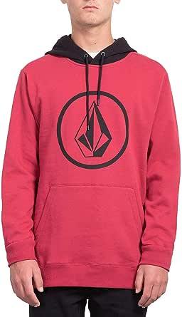 Volcom Men's Stone Pullover Fleece Hooded Sweatshirt