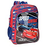 Disney Cars Central Kinder-Rucksack, 40 cm, 19.2 liters, Mehrfarbig (Multicolor)