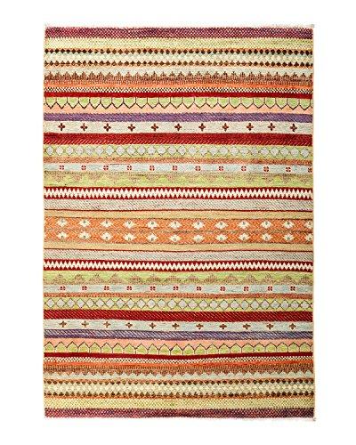Solo Teppiche handgeknotet Bereich Teppich, Wolle, multicolor, 4'5,1cm X 6' 0cm