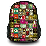 Luxburg Design Mochila. bolsa multifuncional. mochila escolar. mochila deportiva. Motivo: Patchwork