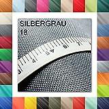 1buy3 3 Lfm OXFORD 600D Farbe 18 | SILBERGRAU | Polyester