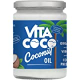 Vita Coco - Organic Extra Virgin Coconut Oil (500ml) - Cold Pressed - Keto - Gluten Free - Use as Cooking Oil, Skin…