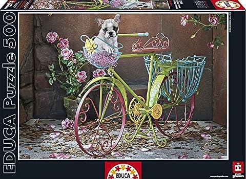 Educa - 15964 - Puzzle Classique - Bulldog Français - 500 Pièces
