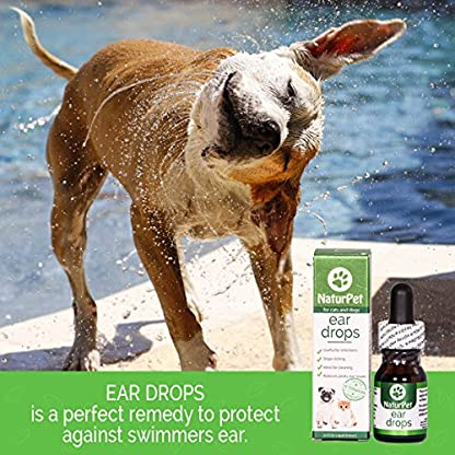 NaturPet Ear Drops | Natural Ear Infection Medicine For Dogs | Dog Ear Cleaner | Cat Ear Cleaner | Helps with Wax, Yeast, Itching & Unpleasant Odors 9