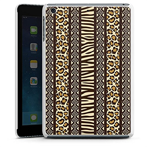 Apple iPad mini 3 Hülle Schutz Hard Case Cover Animal Print Afrika Zebra