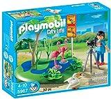 Playmobil - Zoo - fotógrafo con flamencos