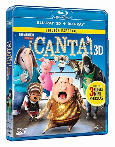 ¡Canta! (Blu-ray 3D + Blu-ray) [Blu-ray] 61Bh0lYvrpL