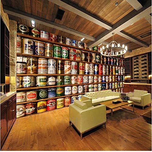 Anpassbare Größe Fototapete 3D Bier Große Wandmalerei Wohnzimmer Bar Ktv Hotel Cafe Wand Hintergrund Wandbild Seidentuch 1㎡ -