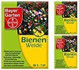 3 x 50 g Bayer Garten Bienenweide Saatgutmischung Blumensamen
