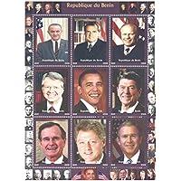 Stamp presidente degli Stati Uniti da Collezione - 9 francobolli dei presidenti americani - Unmounted (Francobolli Washington)