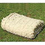 LIYU-Shade Cloth Beige Camouflage Filet Armée Thème Exposition Décoration Filets Écran Solaire Couvrir Arbre Maison Tir Cacher (Taille: 3x6m)