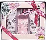 Flowers No. 31, Pfingstrose & Zitrus, Beauty & Wellness Geschenkset (3-teilig)
