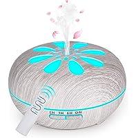 GeeRic Mis à Jour Humidificateur d'air Ultrasonique Brume Arôme Parfum Electrique avec Télécommande 7 Couleurs…