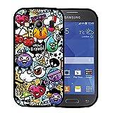 f412ffa9e70 Funda Samsung Galaxy Ace 4 SM-G357, WoowCase [ Samsung Galaxy Ace 4 SM-G357  ] Funda Silicona Gel Flexible Grafiti de Colores Divertido, Carcasa Case TPU  ...
