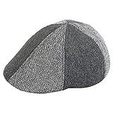 Zacharias Grey & Black Combination Woollen Golf cap - Best Reviews Guide