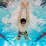 ZAOSU Herren & Jungen Wettkampf-Schwimmhose Z-Speed Limited Edition | Jammer für den Schwimm Sport, Größe:164, Farbe:bunt