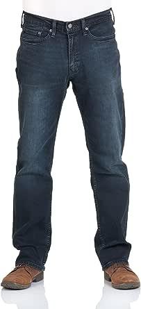 Levi's Men's Jeans Trousers, 514, Stretch Denim, Ship Yard Blue [18976]