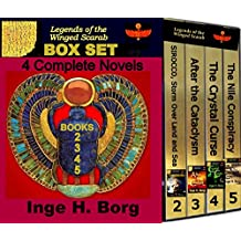 Legends of the Winged Scarab Box Set: 4 Complete Novels (English Edition)