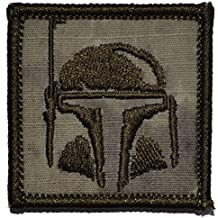 Tactical GEAR Junkie Boba Fett casco Bounty Hunter 2x 2Militar parche/Moral