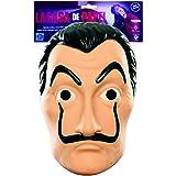 Masque Officiel La CASA de Papel | Masque de Dali | Masque Salvador Dali | Déguisement | Halloween | Carnaval | Soirée Déguis