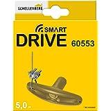 Schellenberg 60553 noodontgrendeling voor garagedeurenopeners, geschikt voor alle drive-modellen, grijs