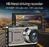 Auto DVR 170°,170 ° Weitwinkel,HD 1080P Camcorder, Auto DVR Kamera Recorder Dash Cam,WDR,G-Sensor,Bewegung Serkennung