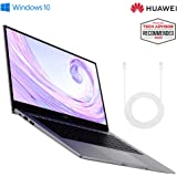 HUAWEI MateBook D 14 2020 - 14 Inch Laptop with FullView 1080P FHD Ultrabook PC (AMD Ryzen 5 3500U, 8 GB RAM, 256 GB SSD, Windows 10 Home, Multi-Screen Collaboration), Amazon Exclusive, Space Grey